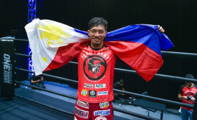 Team Lakay's Lito Adiwang wins six-figure ONE Championship contract