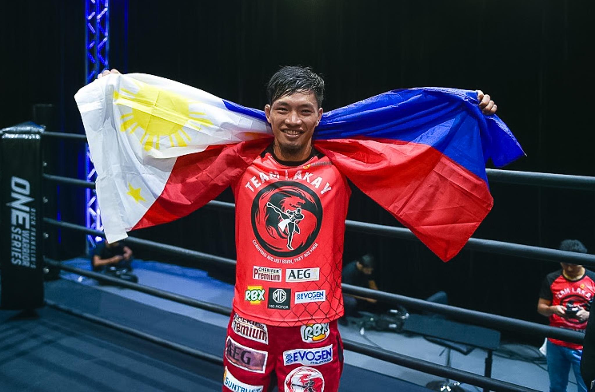 Team Lakay's Lito Adiwang wins six-figure ONE Championship contract