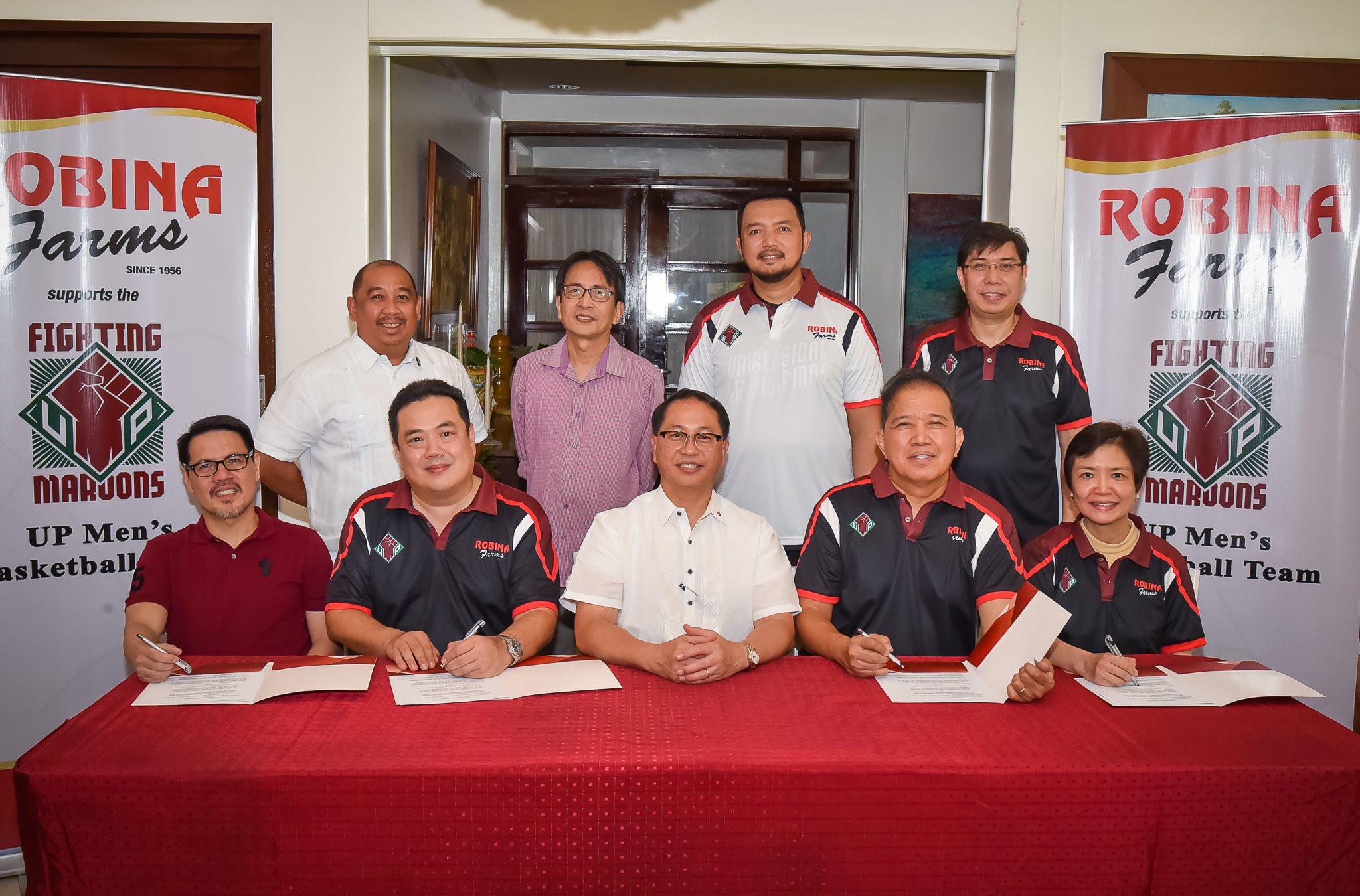 Robinsons Retail, Robina Farms continue to support UP Basketball