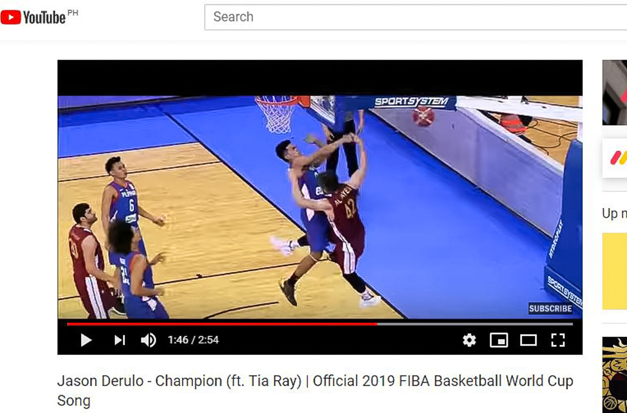 Thirdy Ravena stars in the official 2019 FIBA World Cup video
