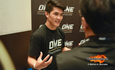 Team Lakay's Danny Kingad: 'I'm going to give my best and win'