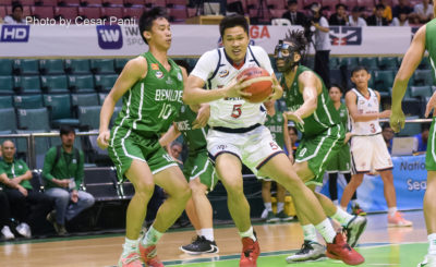Letran dominates CSB, ends first round on winning note