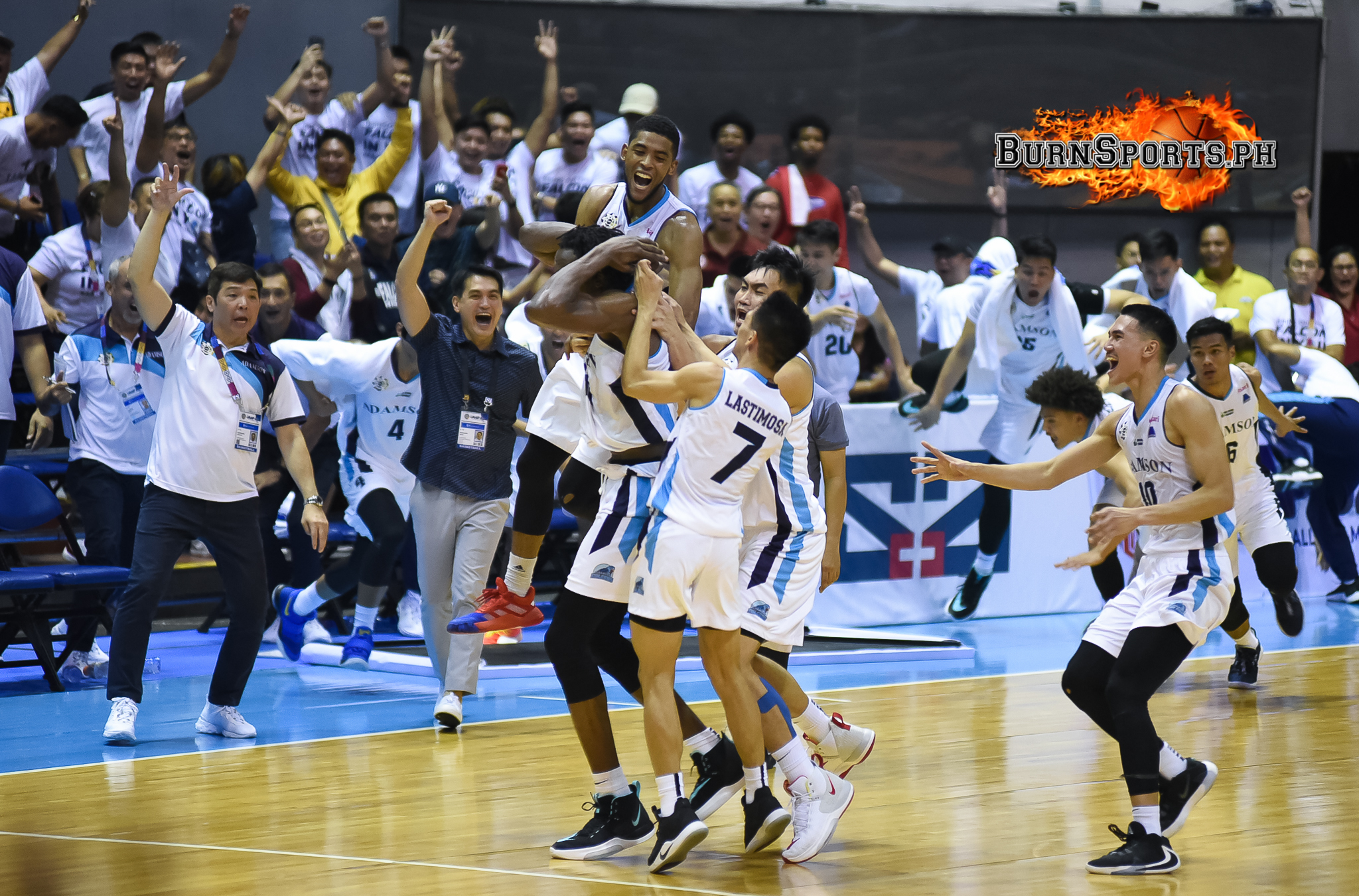 Douanga hits buzzer-beater to lift Adamson over NU in OT