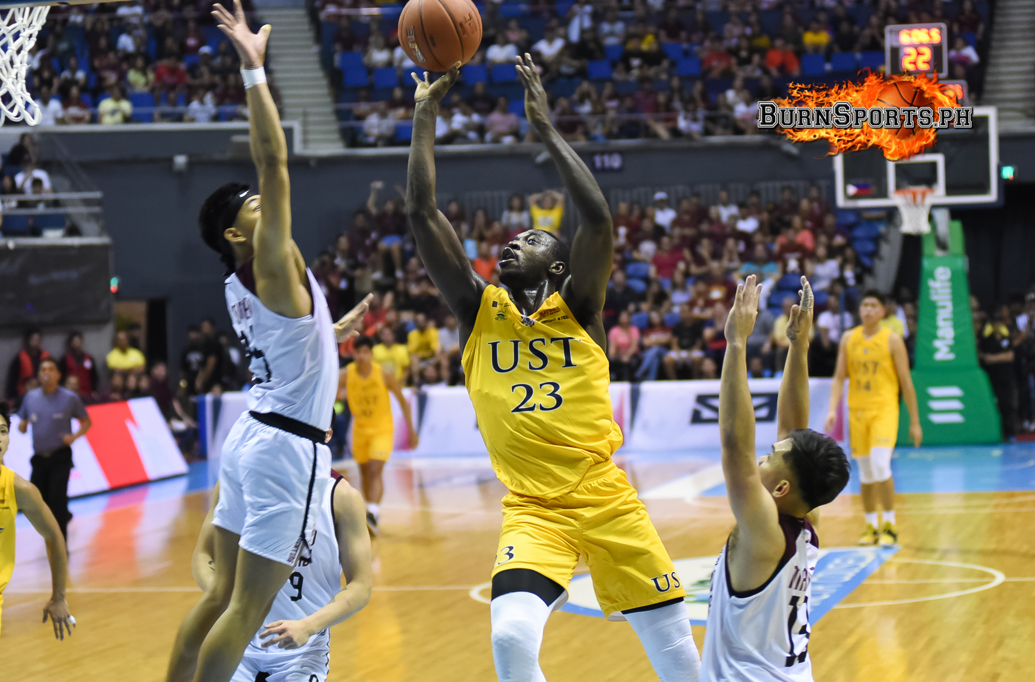 UST stays impressive with 16-point win over UP