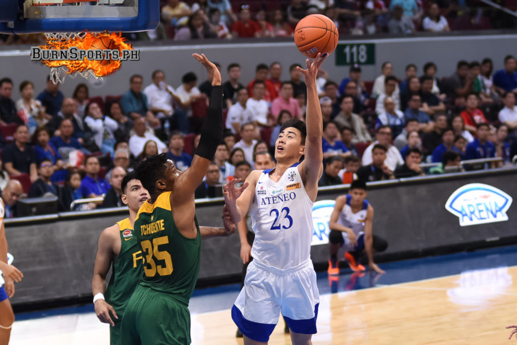 Blue Eagles down Tamaraws to keep unbeaten streak
