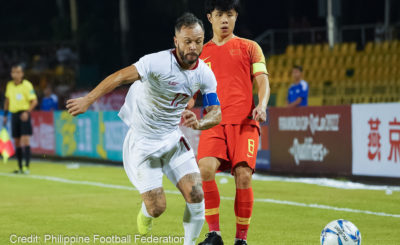 Azkals keep China scoreless to secure draw in World Cup qualifier
