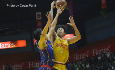 San Sebastian beats Arellano to strengthen grip of 4th spot