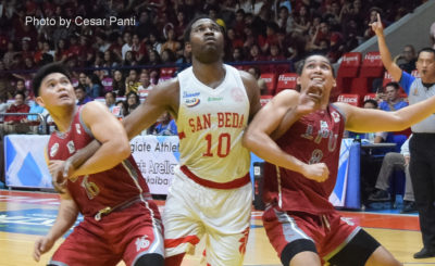 San Beda raps Lyceum to sweep elims, books Finals spot
