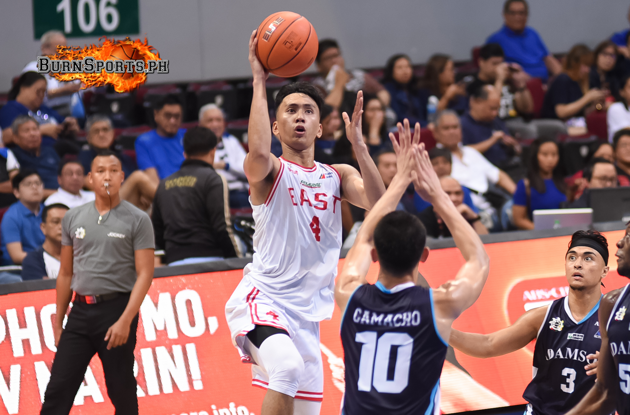 Suerte, Diakhite lead way as UE whips Adamson