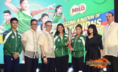 Valdez, Ravena highlight MILO-PHISGOC campaign launch