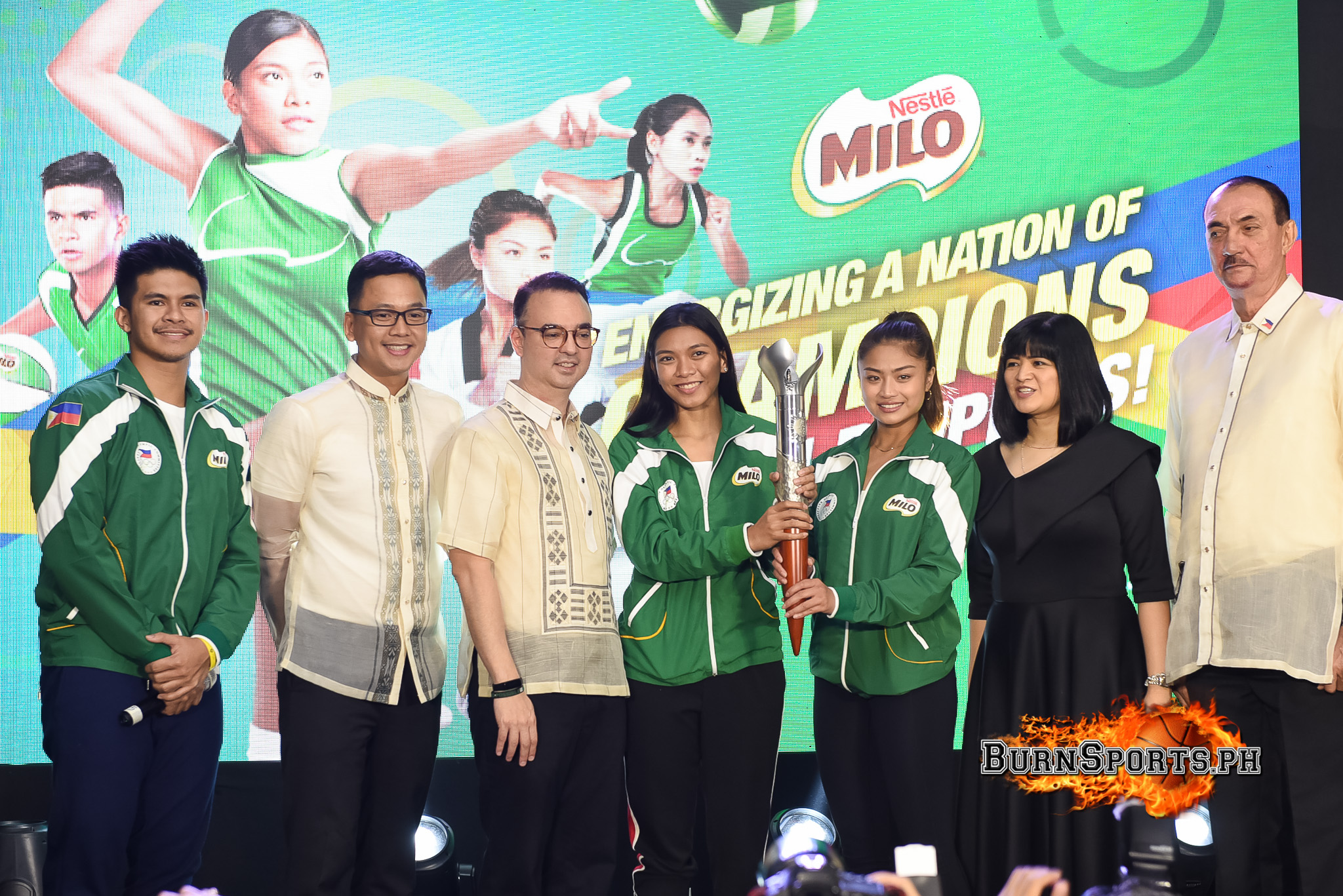 Valdez, Ravena highlight MILO-PHISGOC campaign launch