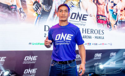 Eduard Folayang confident ahead of Tsogookhuu showdown