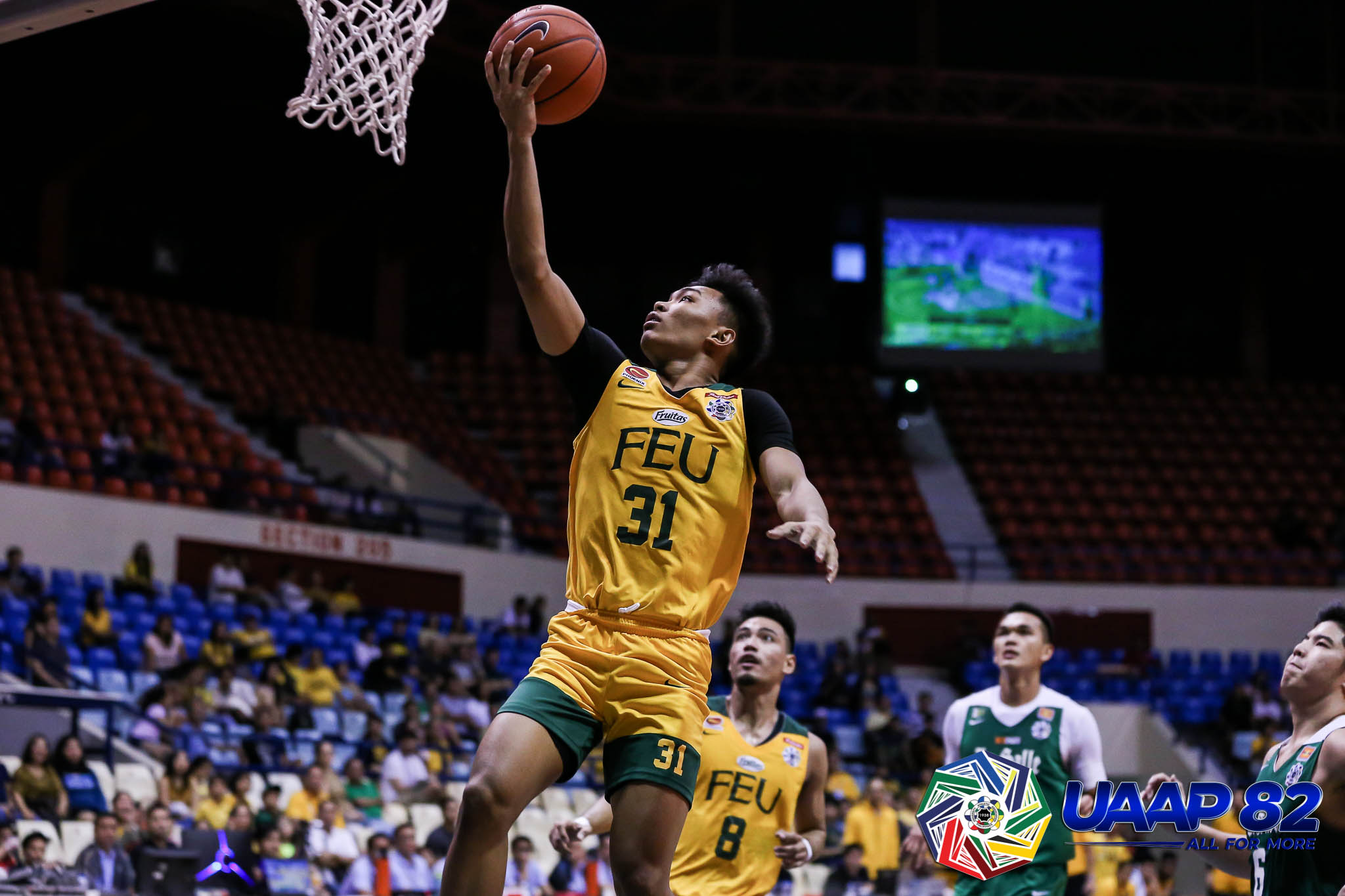 FEU crushes La Salle, moves to solo 4th