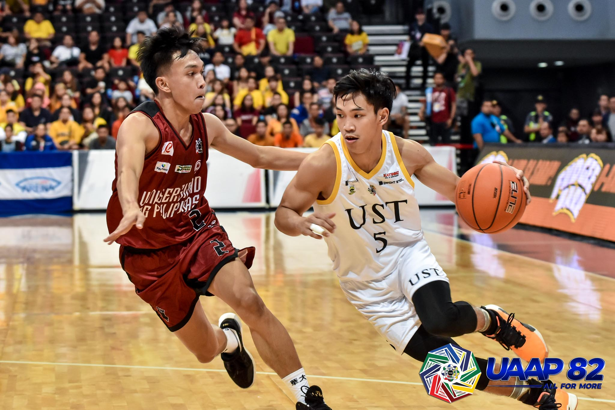 UST claims solo third, sweeps UP