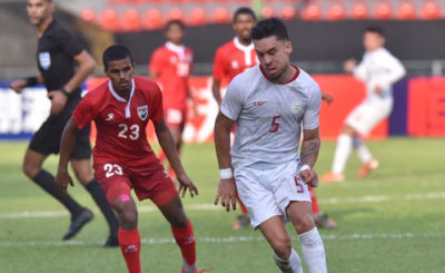 Azkals scores second WCQ win at Maldives' expense