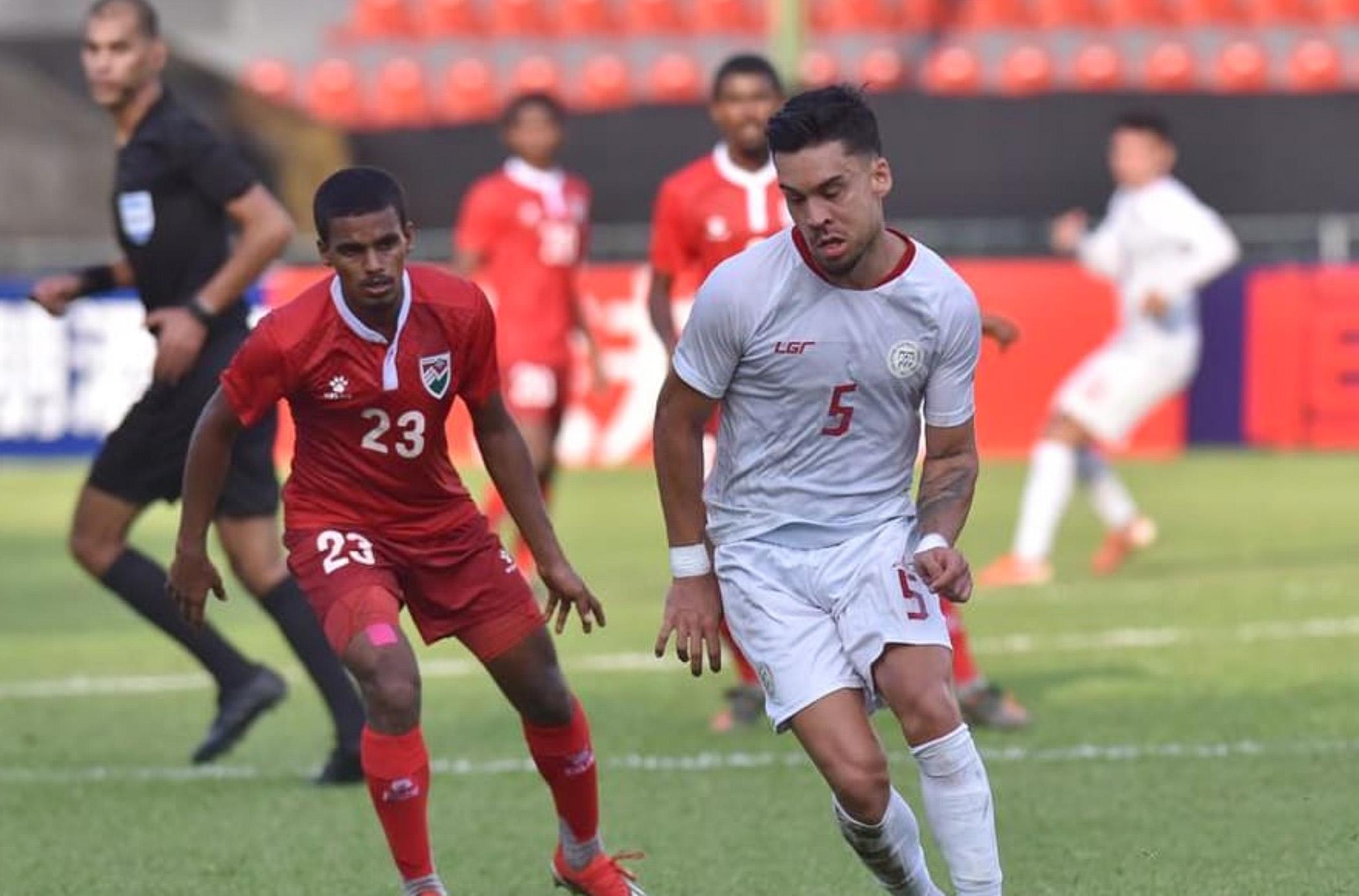 Azkals scores second WCQ win at Maldives' expense