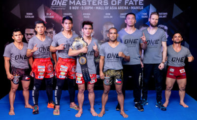 Team Lakay, Catalan FS vow to give it all in ONE: Masters of Fate