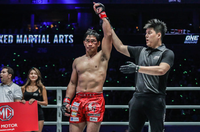 Folayang wins over Tsugookhuu via technical decision