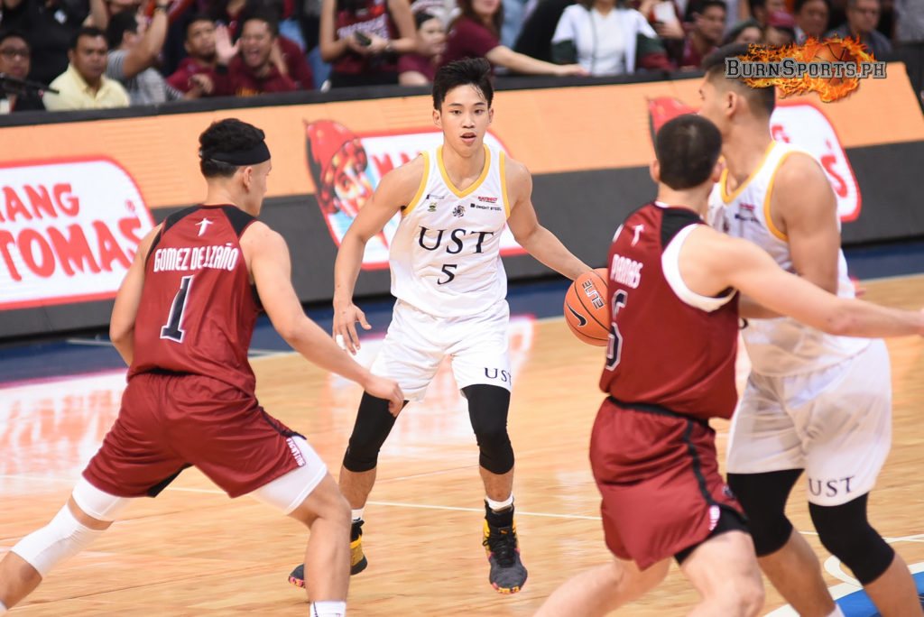 UST ousts UP in thriller, sets up finals clash with Ateneo