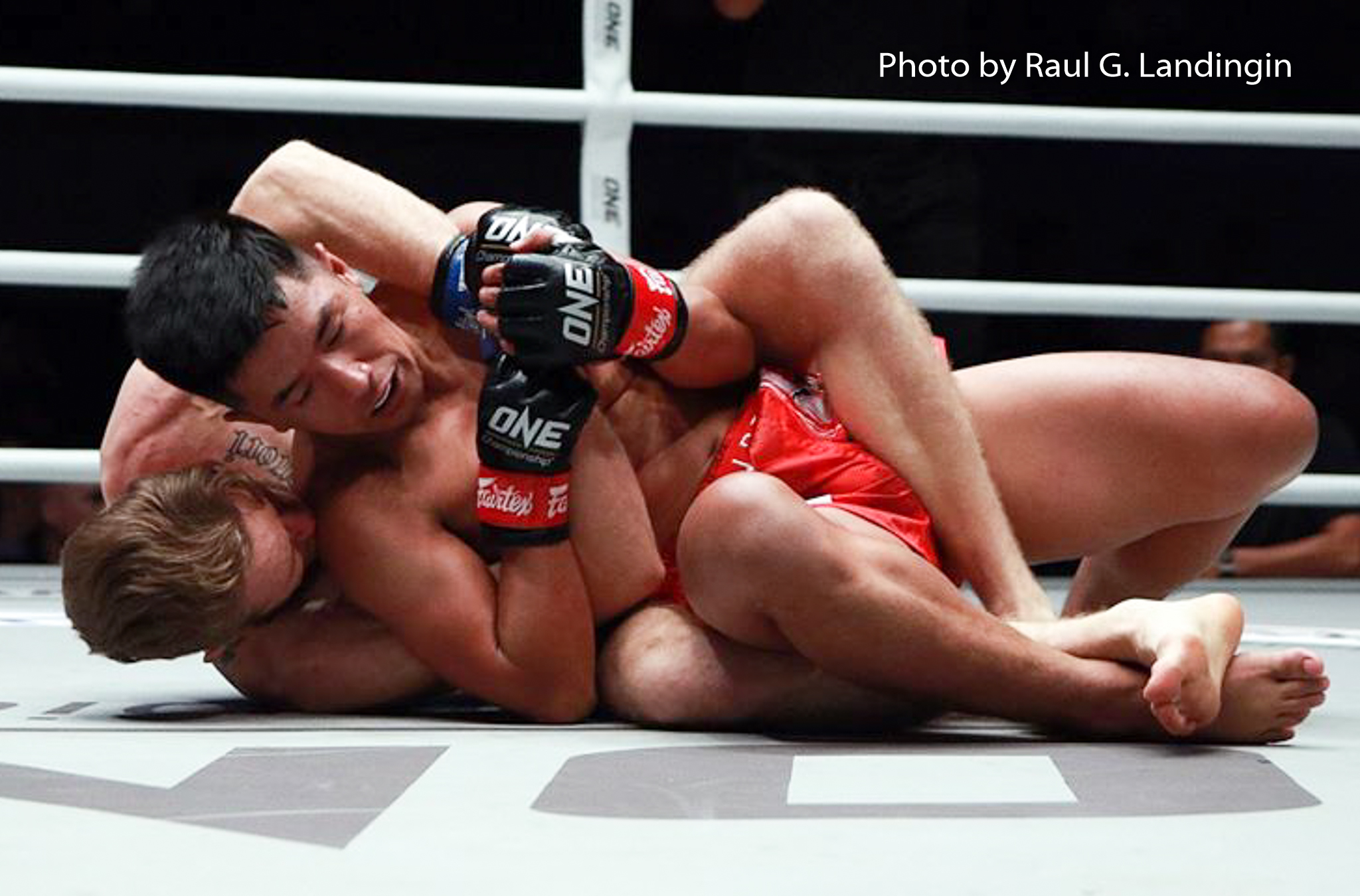 Geje Eustaquio finishes Tauru with spinning kick knockout