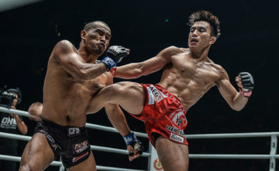 Pacio chokes out Catalan to retain ONE Strawweight belt
