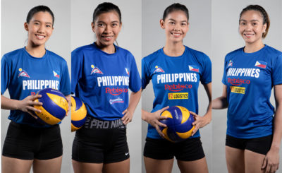 Meet the Philippine National Volleyball team for the 2019 SEA Games