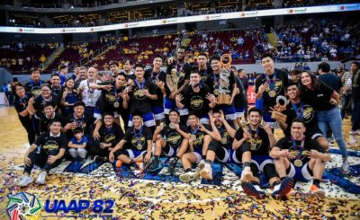 Ateneo completes 3-peat, sweeps UST