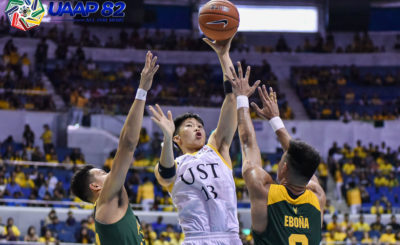 UST outlasts FEU, moves on to face second-seed UP