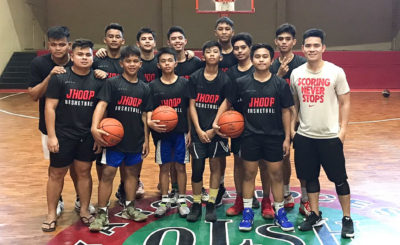 Rising basketball coach gives back by holding cage clinic