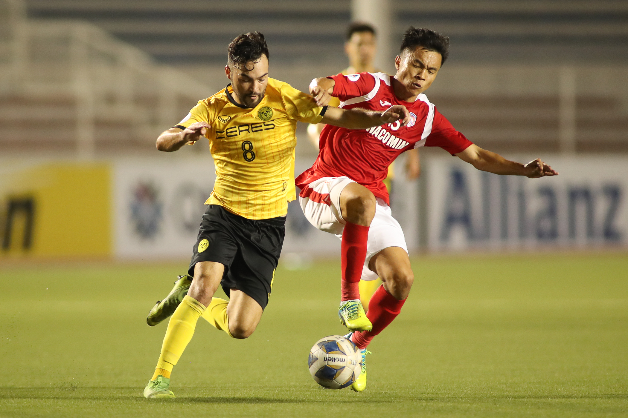 Ceres-Negros stays top after 2-2 draw with Than Quang Ninh