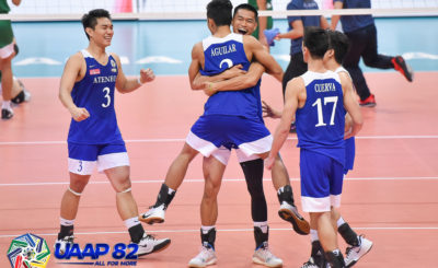 Ateneo tallies first win, fends off La Salle in straight sets