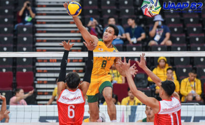 FEU takes down UE for first win in UAAP men's volleyball