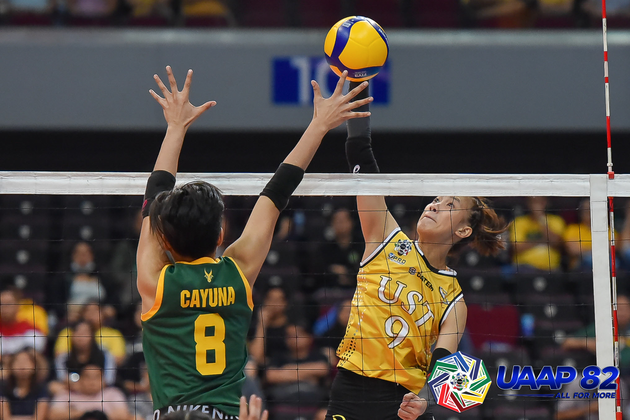 EJ, Eya Laure connive as UST prevails over FEU