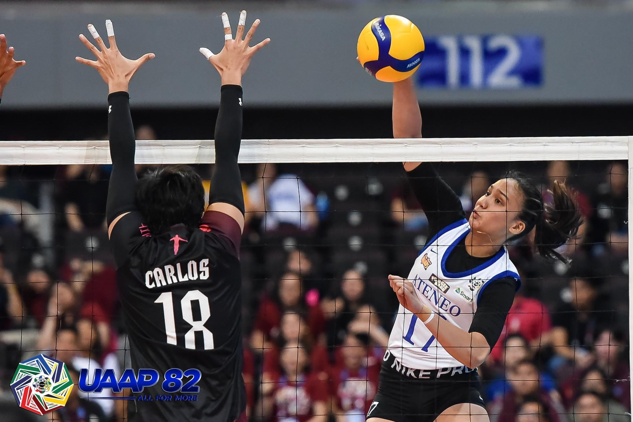 Ateneo starts title retention bid with straight set win over UP
