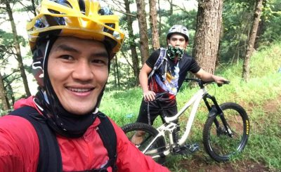Joshua Pacio, Team Lakay turn to mountain biking to stay fit