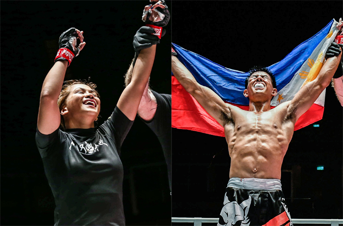 Denice Zamboanga and brother Drex victorious at ONE: A New Breed