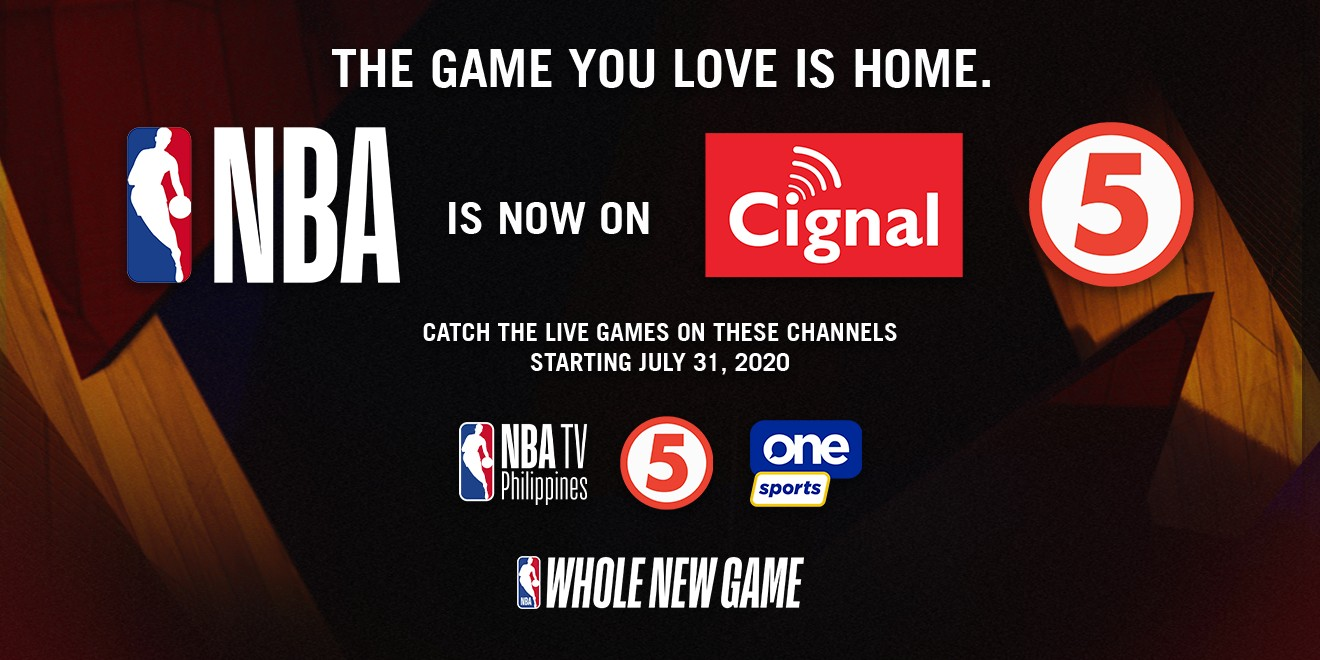 Cignal TV acquires rights to broadcast NBA in Philippines