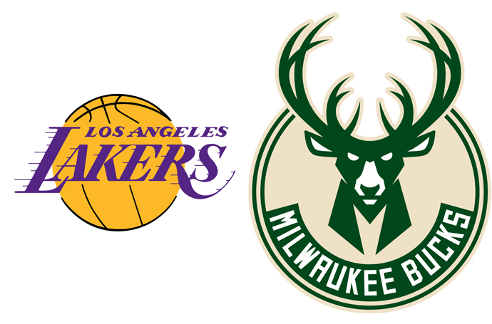 Top seeds Lakers, Bucks advance to their respective semis