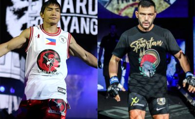 Folayang and Caruso in must-win showdown on Friday