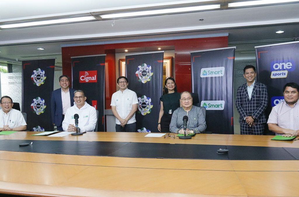 UAAP inks long-term pact with Cignal TV and Smart