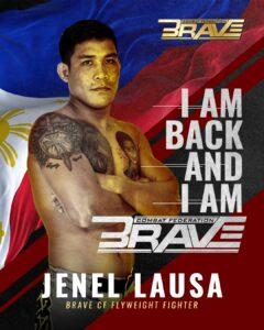 Former UFC fighter Jenel Lausa joins Brave CF