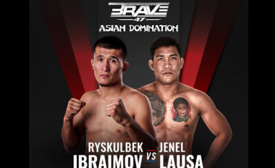 Jenel Lausa to face new opponent in Brave debut