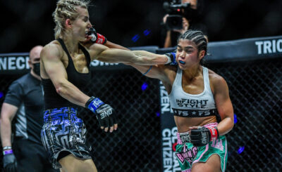 Jackie Buntan wins majority decision against Vandaryeva