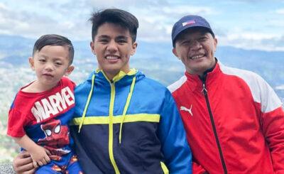 Coach Mark Sangiao has high hopes for his son Jhanlo