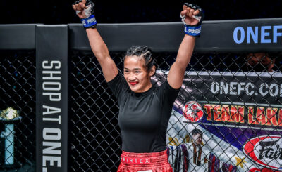 Mark Sangiao pleased with Olsim's atomweight debut