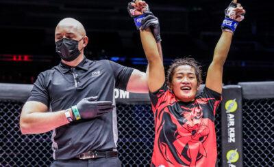 Jenelyn Olsim eyes ONE Atomweight GP spot vs Nguyen