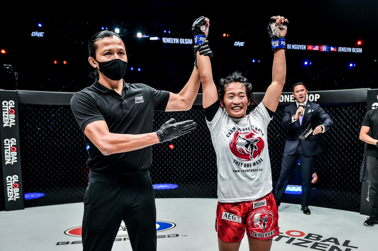 Jenelyn Olsim scores unanimous decision over Bi Nguyen