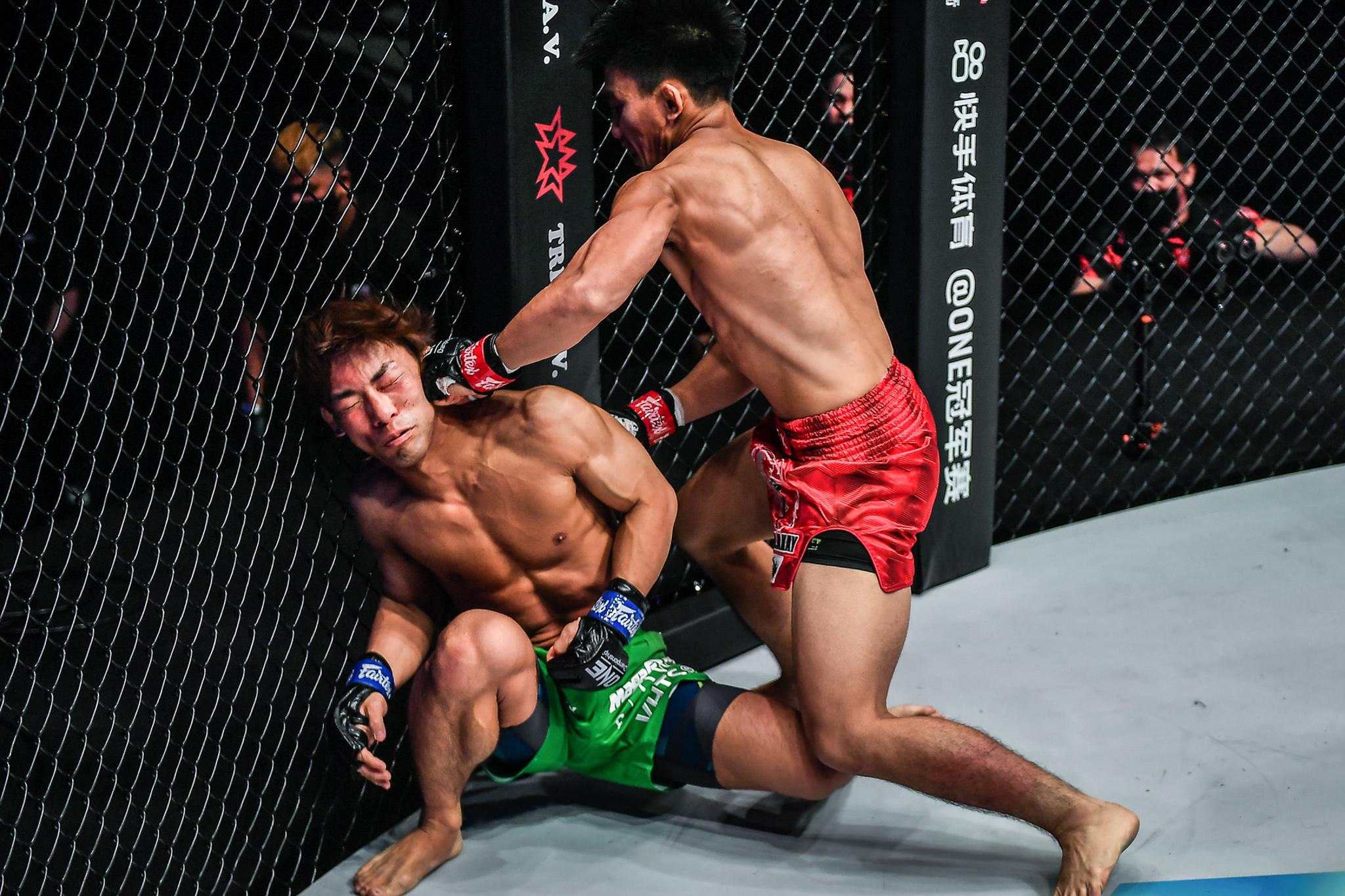 Joshua Pacio destroys Saruta to win trilogy bout