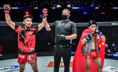 Adiwang dominates Hexigetu for unanimous decision win