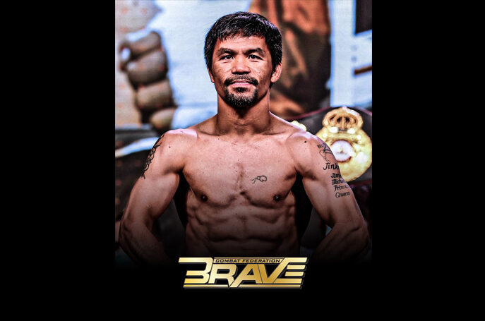 BRAVE CF pays tribute to Manny Pacquiao